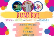 Drama Dot's  (Ages 2 - 5 ) Elwood Drama Classes & Lessons 2 _small