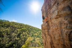 Rock Climb and Abseil at Morialta Conservation Park Adelaide City Centre Adventure 4 _small