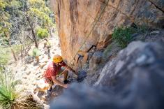 Rock Climb and Abseil at Morialta Conservation Park Adelaide City Centre Adventure 2 _small