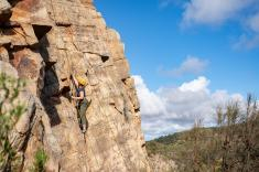 Rock Climb and Abseil at Onkaparinga National Park Adelaide City Centre Adventure _small