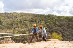 Rock Climb and Abseil at Onkaparinga National Park Adelaide City Centre Adventure 4 _small