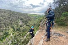 Rock Climb and Abseil at Onkaparinga National Park Adelaide City Centre Adventure 2 _small
