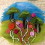 Kids Felted Hoop Art Gumdale Sewing Classes & Lessons _small
