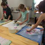 Kids Felted Hoop Art Gumdale Sewing Classes & Lessons 4 _small