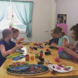 Kids Felted Hoop Art Gumdale Sewing Classes & Lessons 3 _small