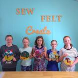 Kids Felted Hoop Art Gumdale Sewing Classes & Lessons 2 _small