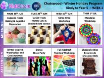 Kids Circle - School Holiday Program on sale now!!! Early Bird discounted rates are on until Sunday 6th June! ⏳+ extra discounts! Chatswood Educational School Holiday Activities 4 _small
