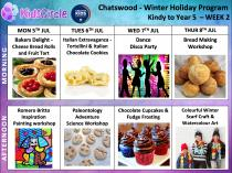 Kids Circle - School Holiday Program on sale now!!! Early Bird discounted rates are on until Sunday 6th June! ⏳+ extra discounts! Chatswood Educational School Holiday Activities 3 _small