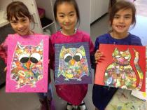 Kids After School Wednesday Painting-ONLINE Mornington Art Classes & Lessons _small