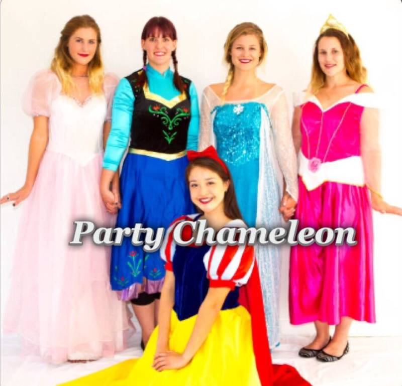 Princess character entertainers