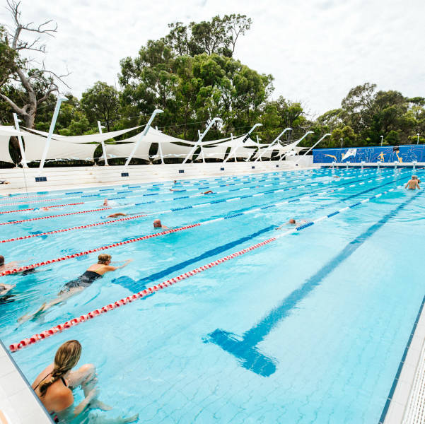 Swimming at the City of Joondalup Leisure Centre - Craigie