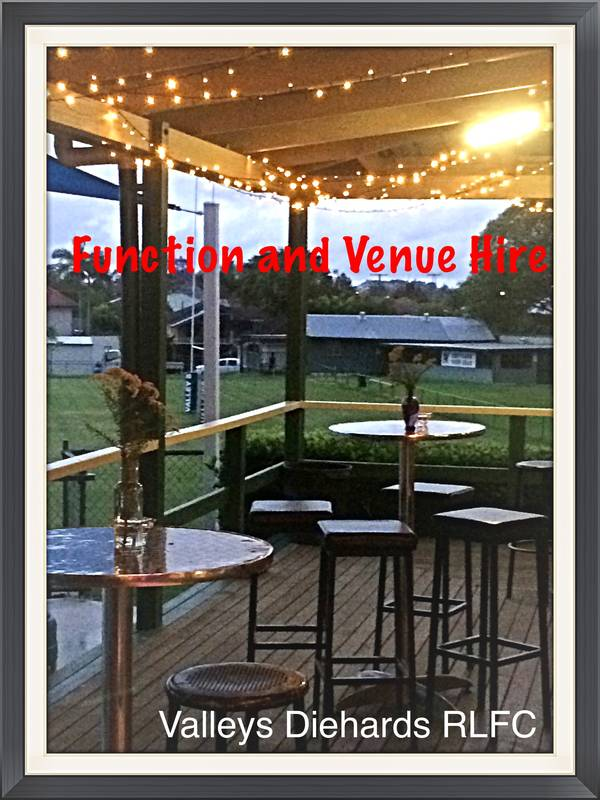 Book your functions at Valleys!! Visit our website or email us for more details