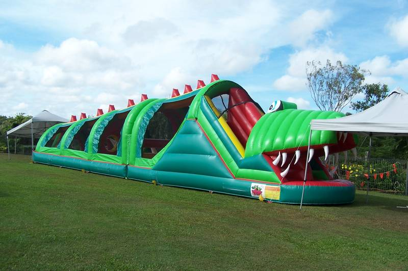 the mighty CROC obstacle for bigger crowds