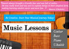 Daniel's Music Lessons - Guitar, Bass, Piano, Ukulele | Ivanhoe