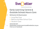 LiveBetter Early Learning and Outside School Hours Care Blackwater