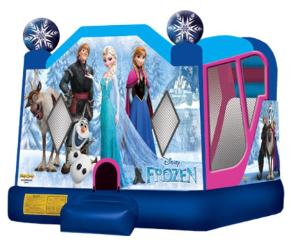 Frozen with slide