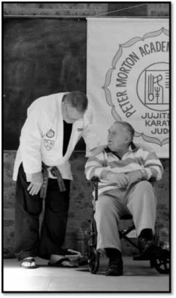 Soke Morton and Sensei Wilson