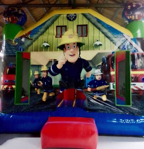Fireman Sam Castle Hire From $110 All Day