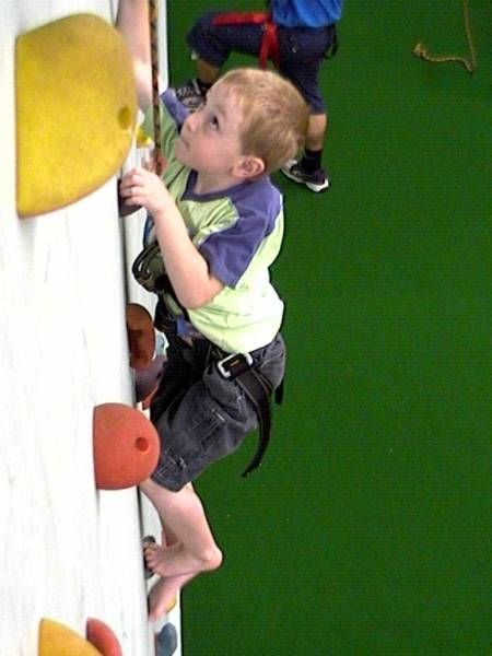 Indoor Climbing Fun