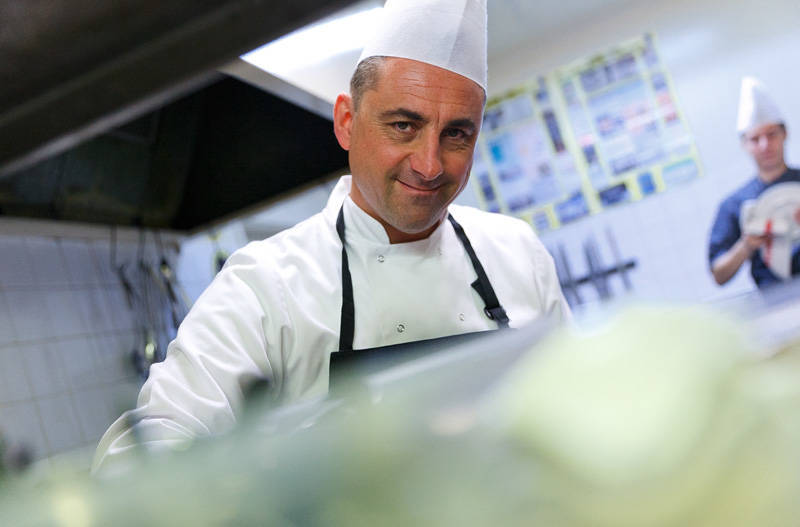 French Chef Christophe Gregoire