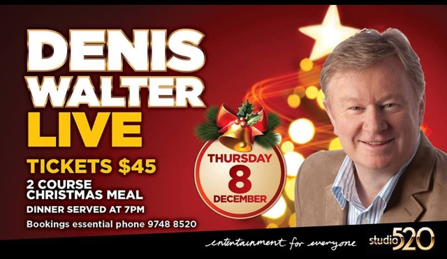 Christmas with Denis Walter