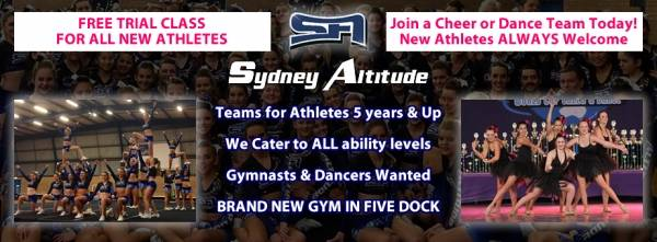 Sydney Altitude Cheerleading & Dance