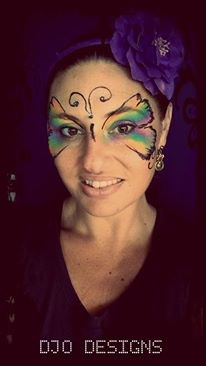 DJO DESIGNS Butterfly Face Paint