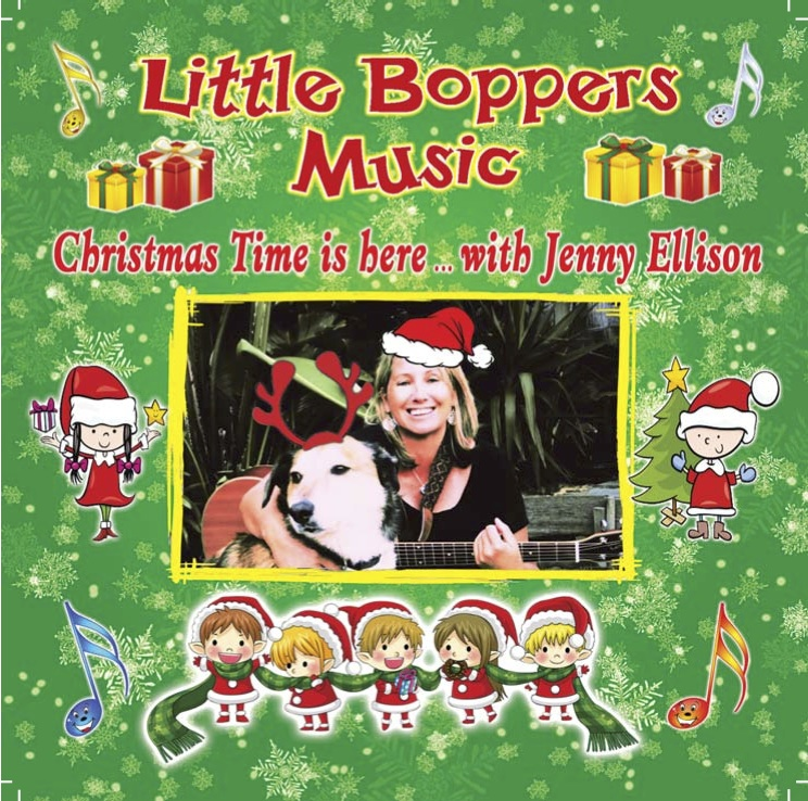 Little Boppers Music Christmas CD