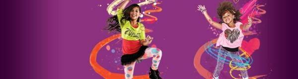 welcome to the kidz zumba party