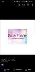 Gale Force Face and Body Painting