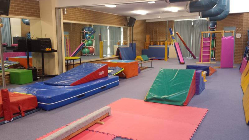 Pre-School Gymnastics Set Up for EdGym Programs