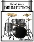 Peter Gore Professional Drum Kit Tuition