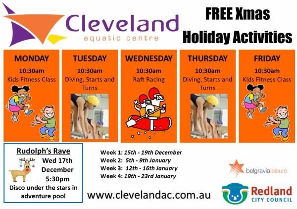 FREE School Holiday Activities