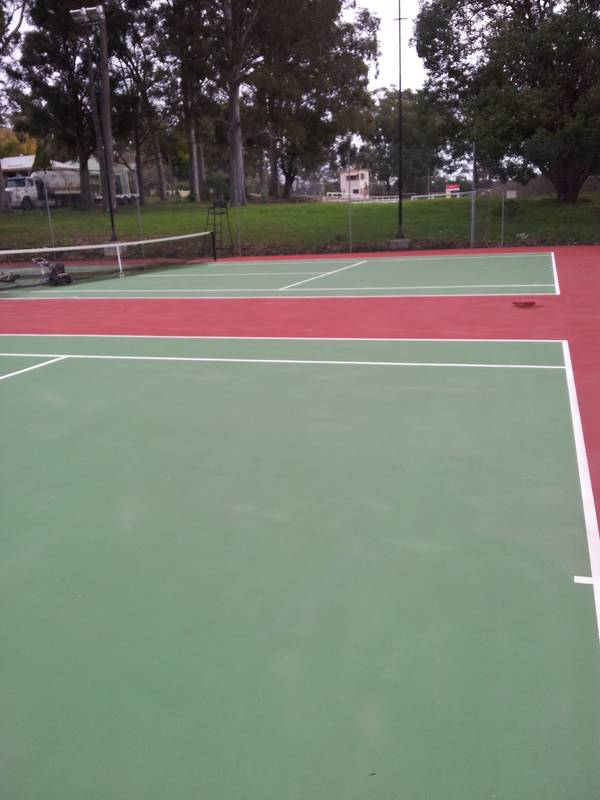 west st tennis courts where lou durante holds children tennis coaching
