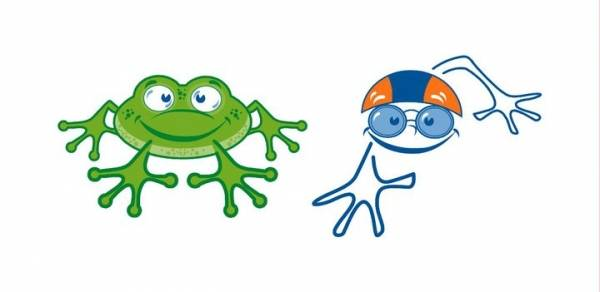Frog to happy swimmer!