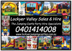 Lockyer Valley Sales and Hire - Jumping Castle Party Hire & Cakes