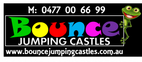 BOUNCE JUMPING CASTLES