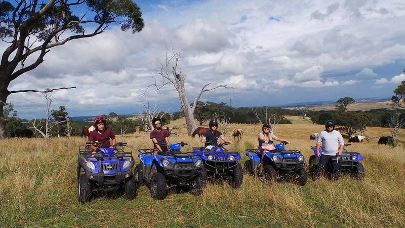 quad biking for adults & kids over 6 yrs old