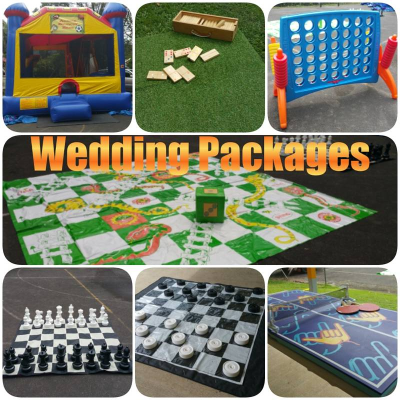 Wedding Packages to keep both Children & Adults Entertained. Prices Staring at $260