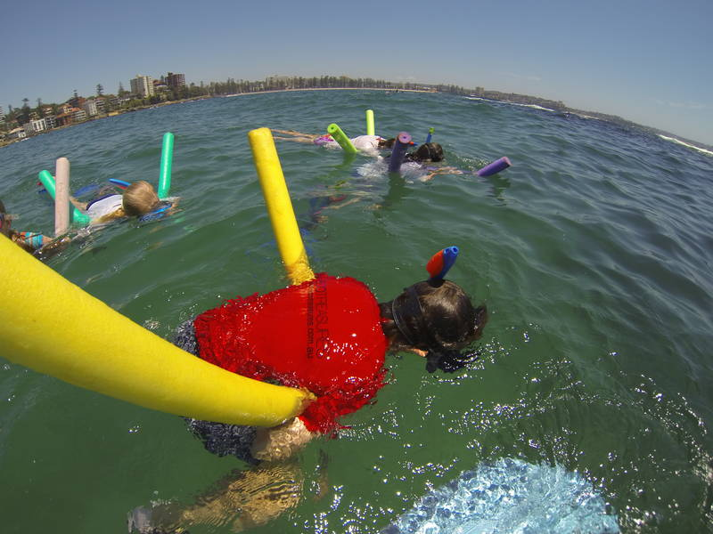 Manly Snorkel Kids Party