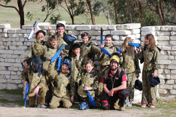 Hot Shots Kids Paintball