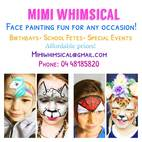 Mimi Whimsical Face Painting