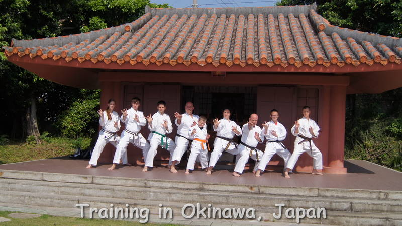 Some of our members training in Okinawa, Japan.