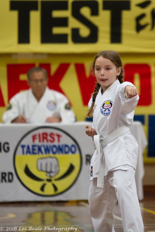 First Taekwondo Beechboro - White belt test