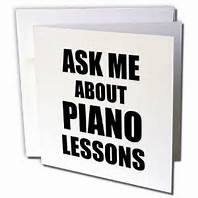 ASK ABOUT PIANO LESSONS
