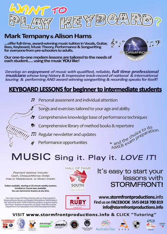 Piano Keyboard Lessons WHYALLA