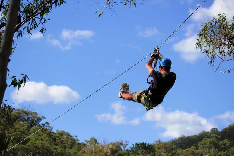 Canyon Flyer Zipline