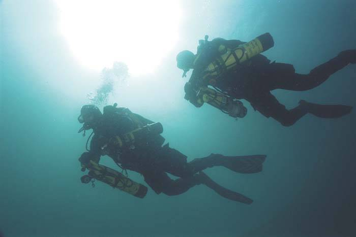 Tec diving specialist boat trips
