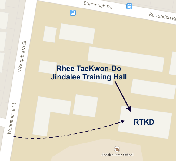 Map of Jindalee Hall
