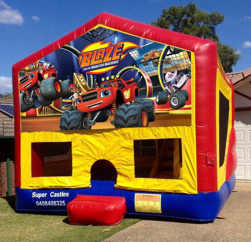 Blaze Jumping Castle Hire South Sydney, Campbelltown, Liverpool, Wollongong